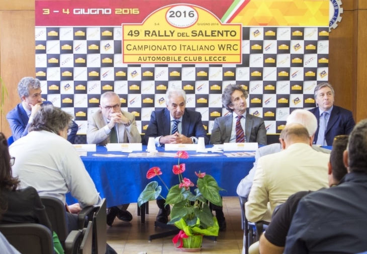 Conferenza Stampa Rally Salento 2016